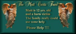 Please visit Matt to see how you can help.